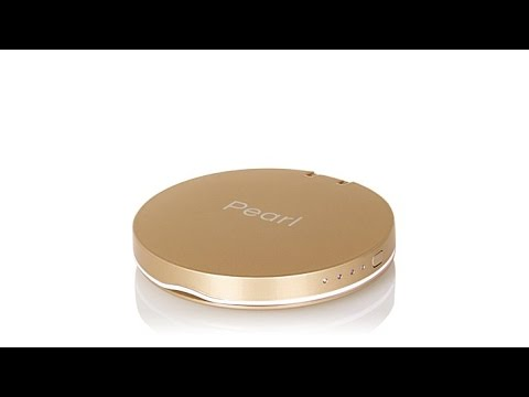 Pearl 3000mAh Compact Mirror with Device Charger