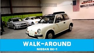1987 Nissan BE-1 - White - 55MPG - 67k miles - MA10S - USA