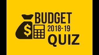 Union Budget 2018 Quiz | Most Expected Questions for Competitive Exams