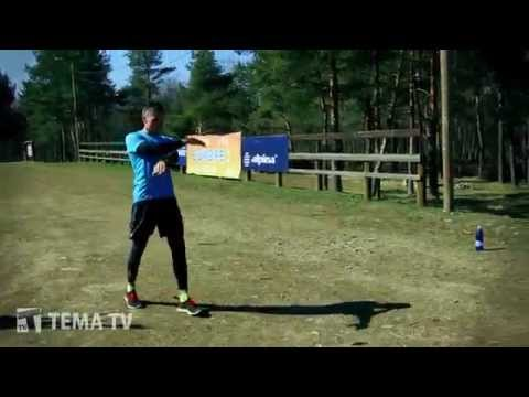 TEMA TV: Уроки техники правильного бега в рамках проекта Бегай с умом. 20.04.2014