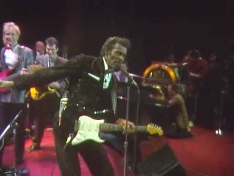 "Chuck Berry's 1986 Hall of Fame Induction Jam Session – ""Reelin' and Rockin'"""