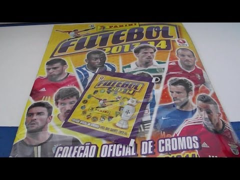 Panini Futebol 2013/14 sticker collection review and starterpack opening