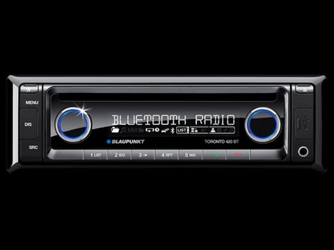 blaupunkt car stereo review of the toronto 420 bt youtube. Black Bedroom Furniture Sets. Home Design Ideas