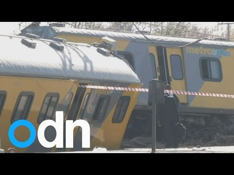 One dead, dozens injured in South Africa train crash