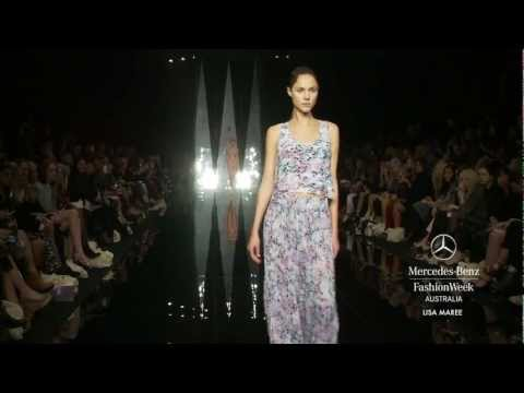 LISA MAREE – MERCEDES-BENZ FASHION WEEK AUSTRALIA SPRING SUMMER 2012/13 COLLECTIONS