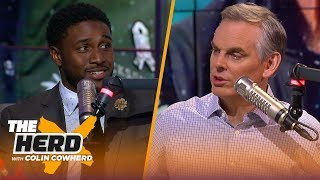 Reggie Bush joins Colin to talk USC recruiting woes, OBJ and longevity of Drew Brees | THE HERD