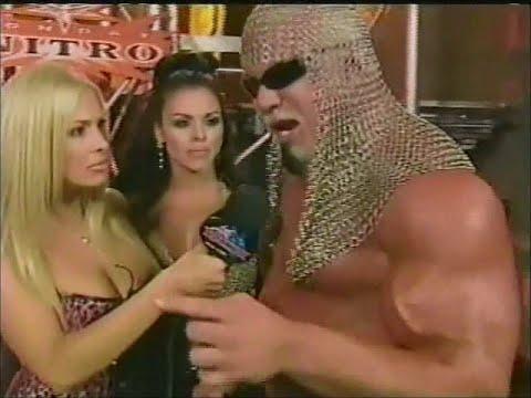 Scott Steiner shoots on Torrie Wilson + beats up fan & her skinny boyfriend [Nitro - 16th Oct 2000]