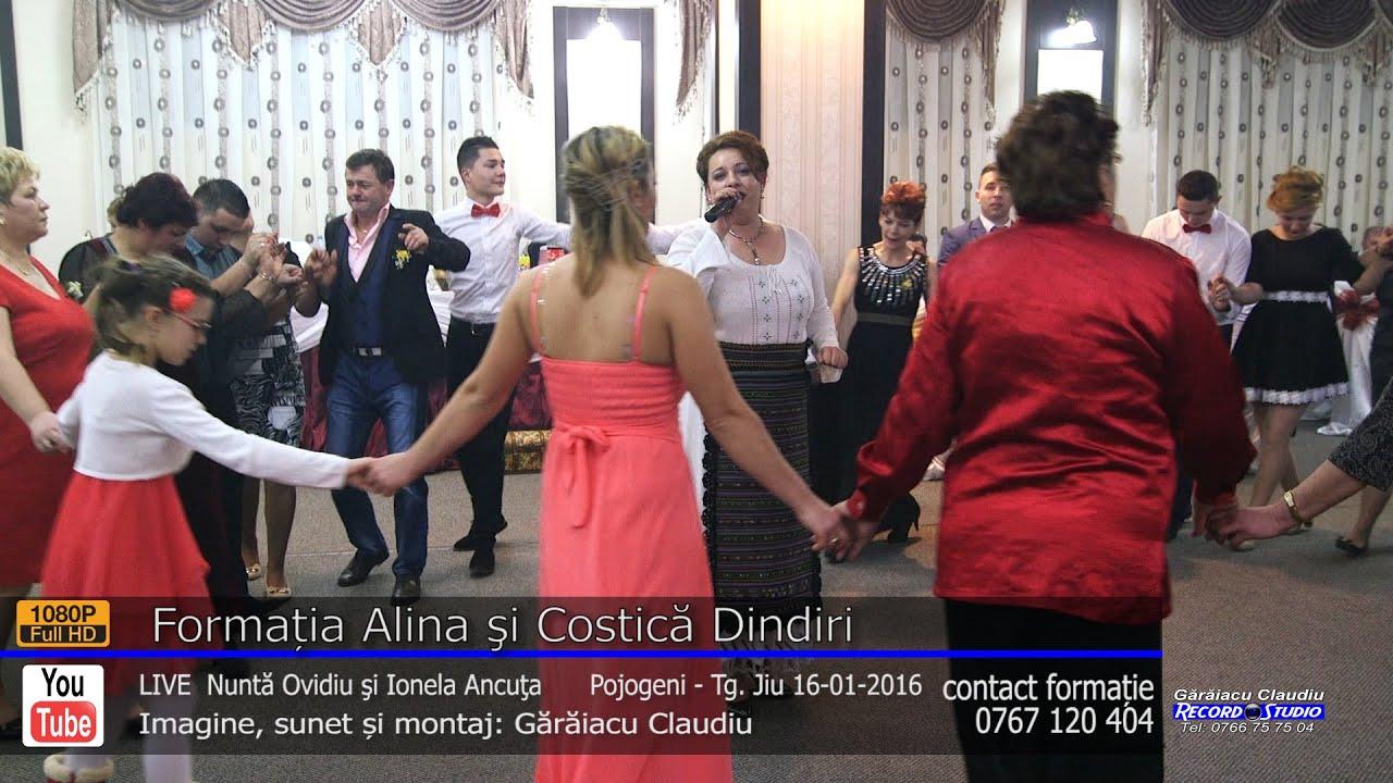 Formatia Alina si Costica Dindiri | Colaj HORA part.3 LIVE | Nunta Ovidiu si Ionela Ancuta
