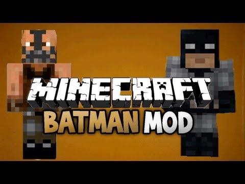 Minecraft: Batman mod review + tutorial (how to install)