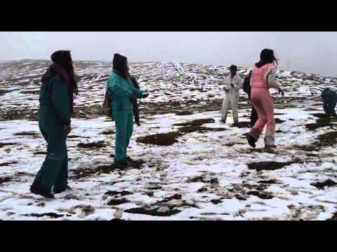 Tourists Enjoying Snow Rohtang Pass