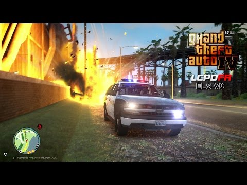 GTA IV - LCPDFR - 1.0C - EPiSODE 66 - LA COUNTY SHERIFF POLICE PATROL (JERRY LEE)