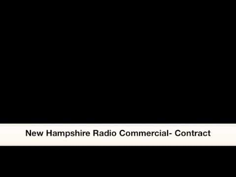 Professional Fire Fighters of New Hampshire Radio Advertisement - Contracts