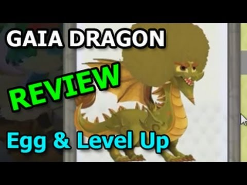 GAIA DRAGON Dragon City Egg and Level Up Fast Review