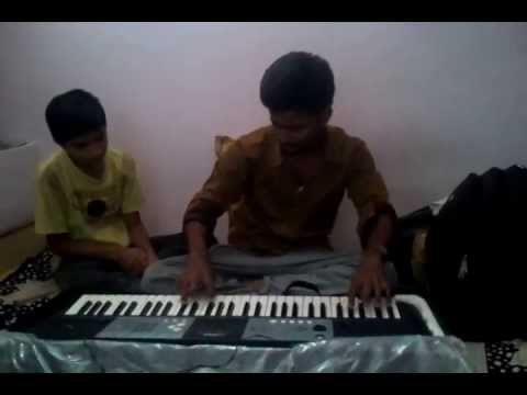 LAL DIVYACHYA GADILA ON PIANO