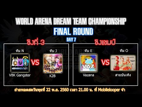 [LIVE] Summoners War World Arena Dream Team Championship รอบชิงชนะเลิศ
