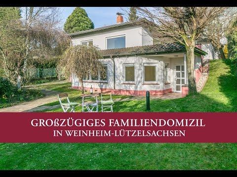 Großzügiges Familiendomizil in Weinheim-Lützelsachsen