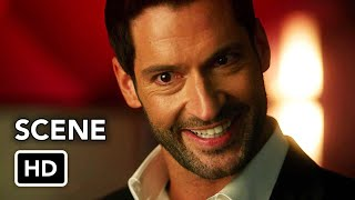DCTV Crisis on Infinite Earths Crossover - Lucifer Cameo (HD) Tom Ellis Scene
