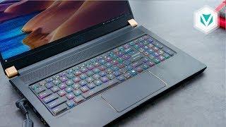 """MSI GS75: Laptop Gaming 17"""" Nhẹ Nhất!! - NVIDIA® GeForce RTX™ 2070 Max-Q"""