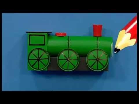 Mister Maker Train Pencil Pot Youtube