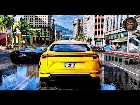 ► GTA 6 Graphics - Lamborghini Urus 2018 ✪ NVR & REDUX & M.V.G.A. - GTA V Realistic Graphics!