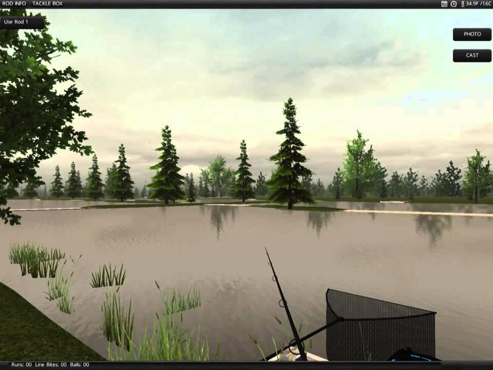 симулятор рыбалка с фидером