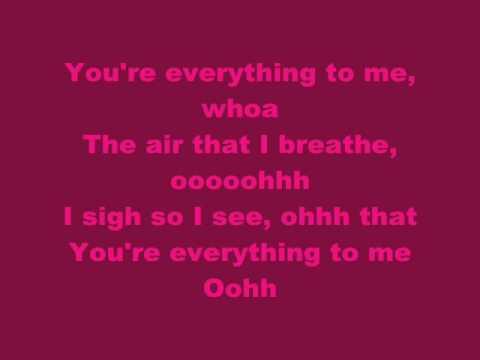 Monica- Everything to Me (LYRICS)