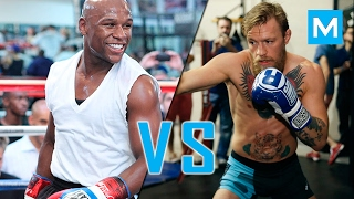 Conor Mcgregor VS Floyd Mayweather   Muscle Madness