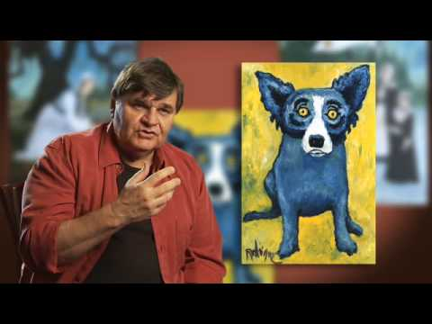 "George Rodrigue's Loup Garou ""Blue Dog"""
