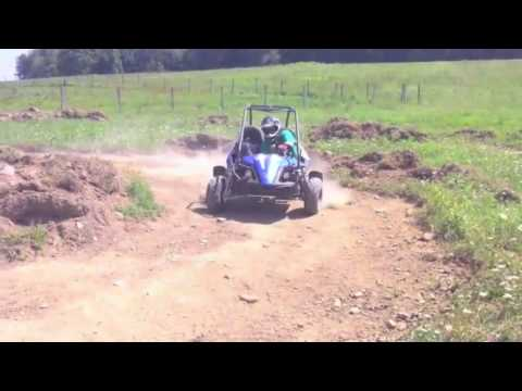 Hammerhead GTS 150 on the track
