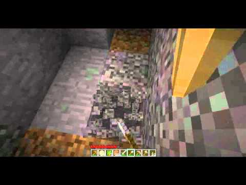 Lets Play Minecraft Ep 2 Burn Skeleton Burn!