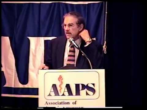 Ron Paul speaks in 1997 to physicians