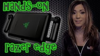 Hands-On: Razer Edge Tablet Mode