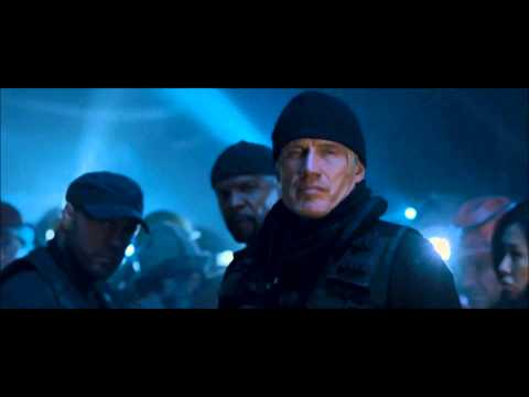 The Expendables 2 Gunnar's 'expertise' video