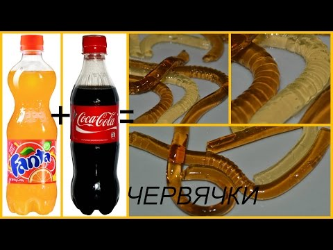 "Как сделать желейную ""Кока-Колу"". Рецепты 58"