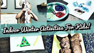 CHRISTMAS CRAFTS & ACTIVITIES TO DO WITH YOUR KIDS THIS WINTER BREAK!