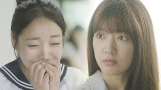 Park Shin Hye & Moon Ji In, cute friendship in high school 《The Doctors》 닥터스 EP02