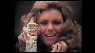 Groom & Clean Hairspray 1970's Victoria Vetri ad