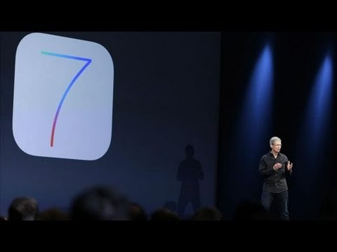 Apple Unveils iOS 7 for Mobile Devices