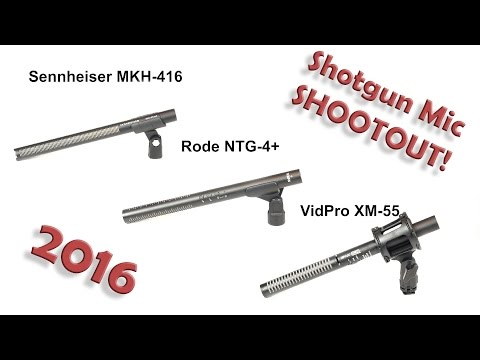 Shotgun Mic Shootout! Which one is the best?