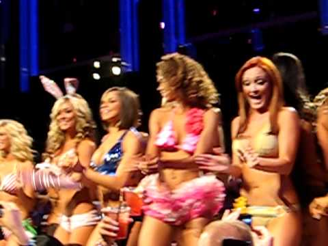 Miami Dolphins Cheerleaders 2012 Swimsuit Calendar Fashion Show at LIV