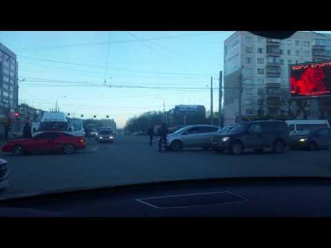 Драка на дороге Челябинск