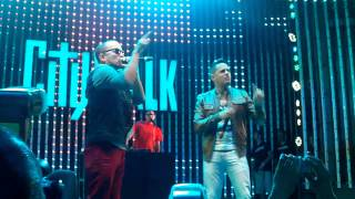 Angel y Khriz -Na de Na at City Walk Hollywood 8/18/13