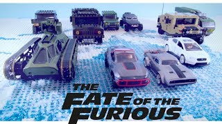 LEGO FAST AND FURIOUS! Fate of the Furious Official Trailer Stop motion