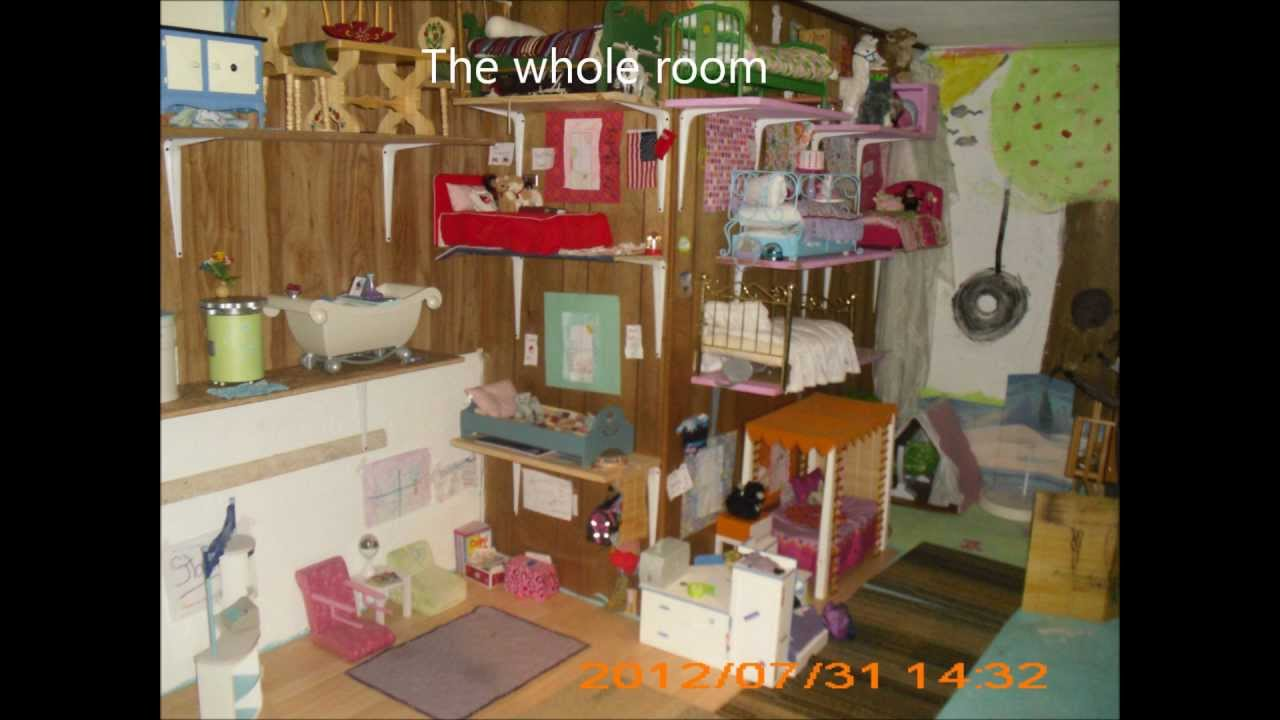 American Girl Doll Youtube Room Tour