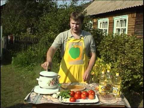 Изюминка. Салат из овощей для зимней консервации.