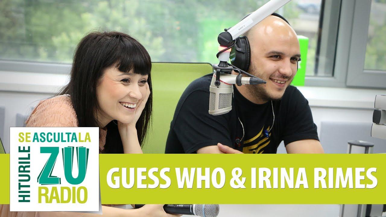 Guess Who feat.  Irina Rimes - Cupidon (Live la Radio ZU)