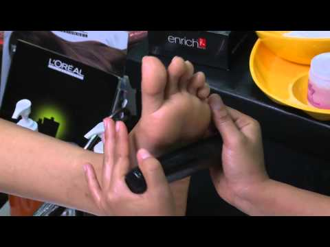 Foot Spa With Stones | Foot Masage Treatment | Cure Dry Damaged Feet