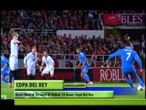 Derby Madrid Tidak Terhindarkan Pada Pertandingan Besar Copa Del Rey