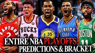 2019 NBA Playoff Bracket/Predictions