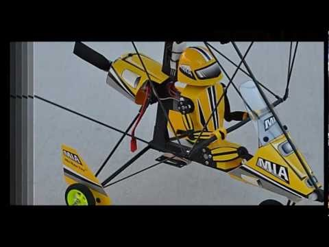 HOW TO FLY THE MIA  MINI ROBO TRIKE - Radio Control Microlight Ultralight Model